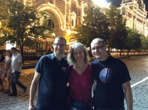 Tweeps in Moscow
